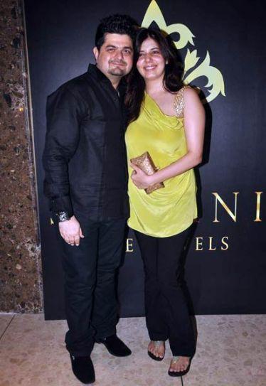 Dabboo Ratnani and Manisha