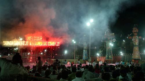 Dussehra celebrations