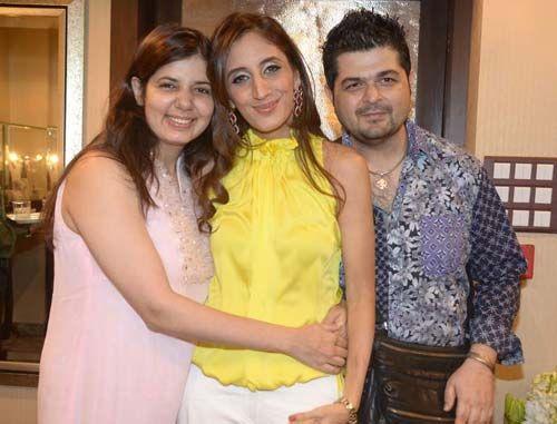 Farah Khan Ali, Dabboo Ratnani and Manisha