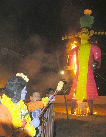Dussehra in Bhopal