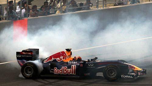 India's Formula One track - the Buddh International Circuit