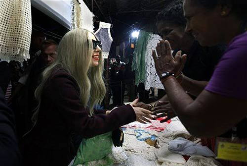 Lady Gaga in New Delhi