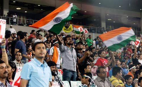 Team India fans