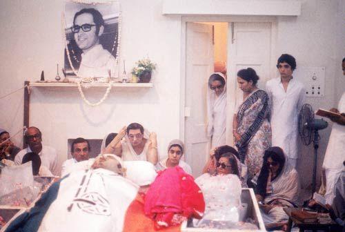 Sanjay Gandhi funeral