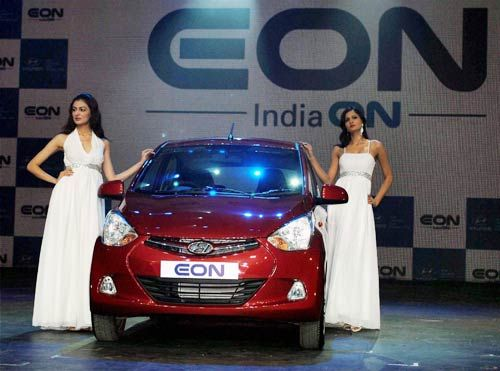 Launch of Hyundai Eon