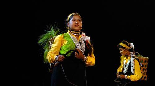 Artists perform at Lok Rang 2011 in Jaipur