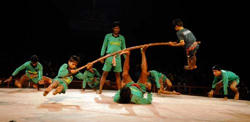 Performers at Lok Rang 2011 in Jawahar Kala Kendra