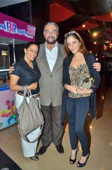 Kabir Bedi and Farah Khan Ali