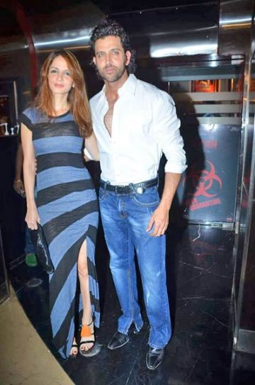 Hrithik and Sussanne Roshan