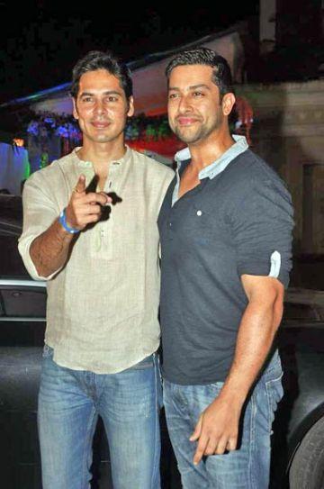 Dino Morea and Aftab Shivdasani
