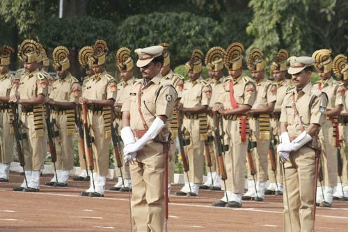 Police Shaheed Divas in Bhopal