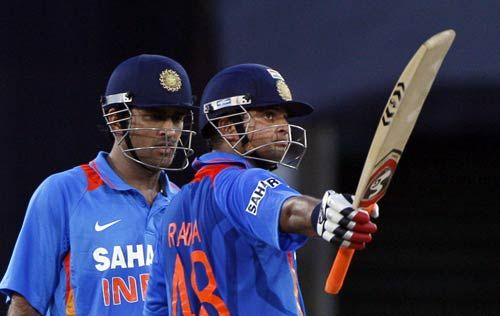 Suresh Raina and MS Dhoni