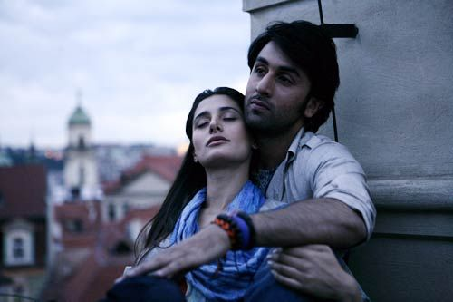 Ranbir Kapoor and Nargis Fakhri in Rockstar