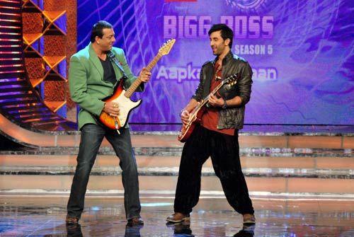 Sanjay Dutt and Ranbir Kapoor