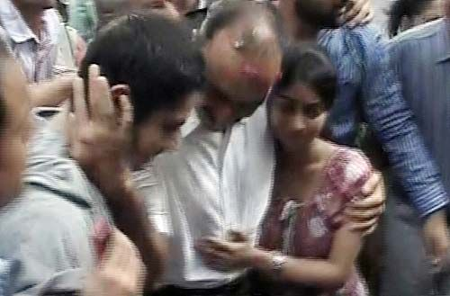 Sanjeev Bhatt meets his family