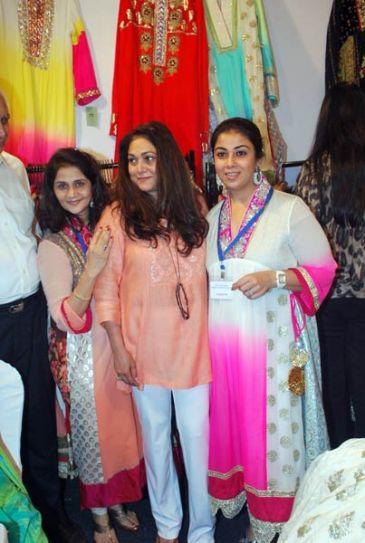 Tina Ambani with friends