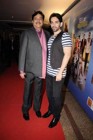 Shatrughan Sinha with son