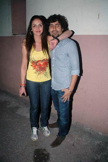Esha Deol and Chandan Roy Sanyal
