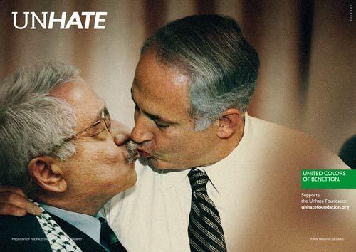 Benetton 'Unhate' campaign