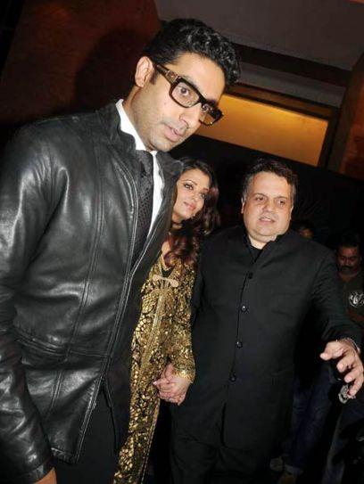 Abhishek and Aishwarya Rai