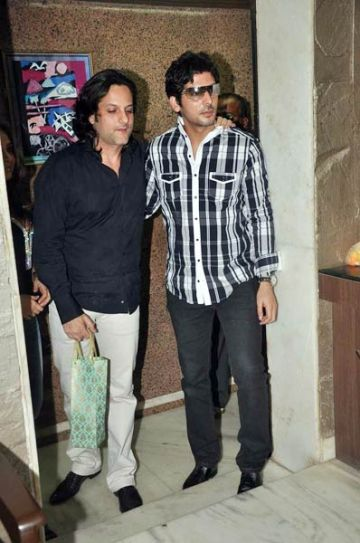 Zayed and Fardeen Khan