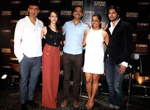 Rahul Dev, Hazel Keech, Rohan Sippy, Shahana Goswami and Ali Fazal