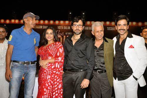 Milan Luthria, Vidya Balan, Emraam Hashmi, Naseeruddin Shah and Tusshar Kapoor