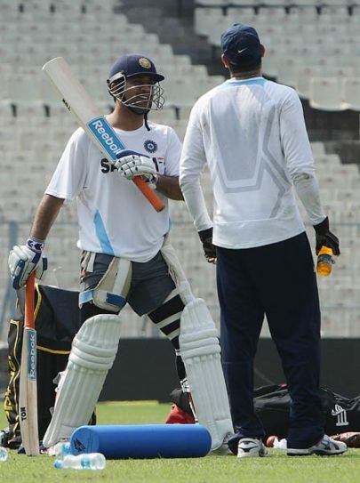 MS Dhoni and Laxman