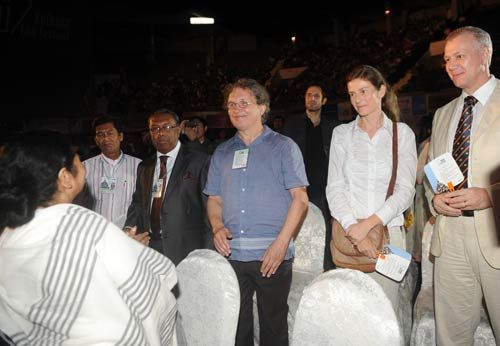 Foreign delegates at 17th Kolkata Film Festival