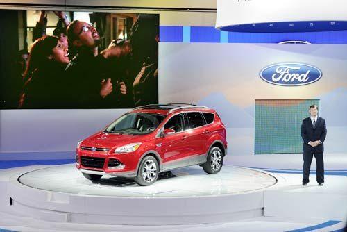 Ford Escape at LA Auto Show