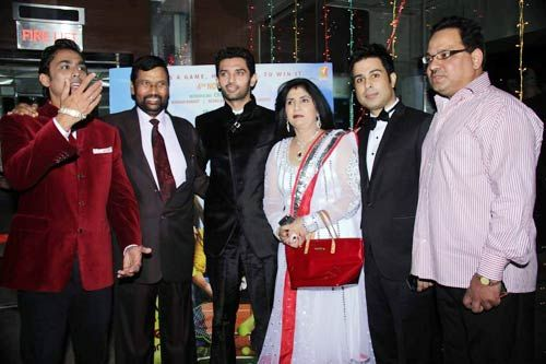Chirag Paswan with family and friends
