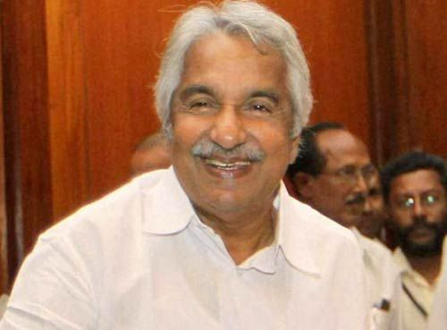 Kerala Chief Minister Oomen Chandy.