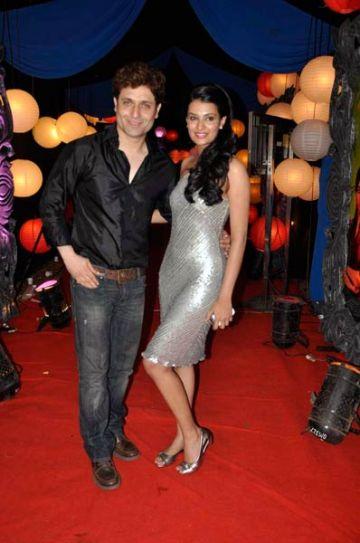 Shiney Ahuja with Sayali Bhagat