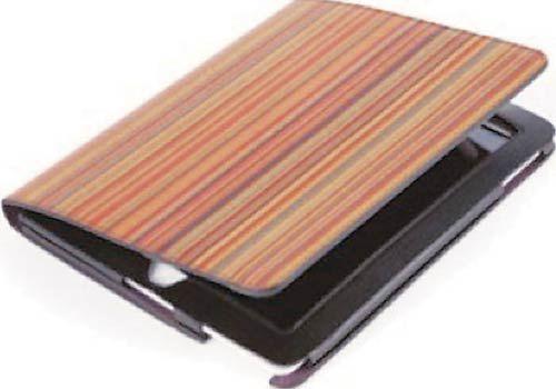 Multi stripe ipad cover