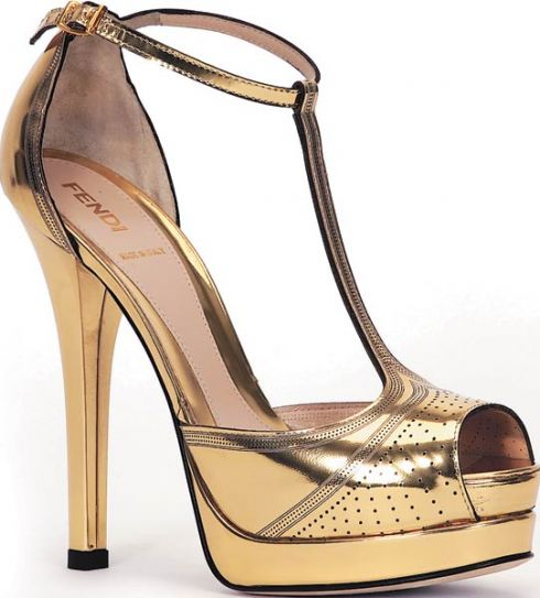 Fendi laser cut platforms