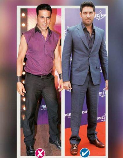 Akshay Kumar and Yuvraj Singh
