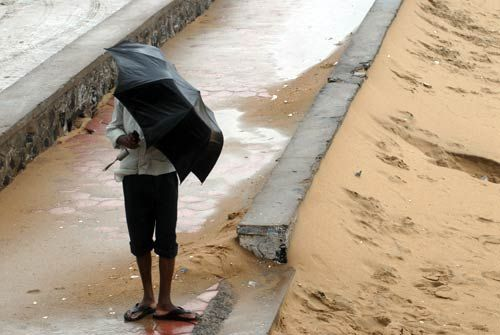 Cyclone Thane disrupts life in Puducherry
