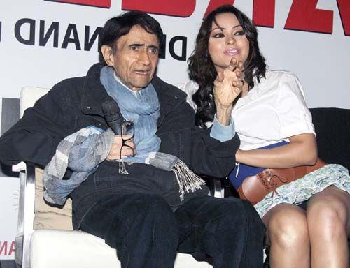 Dev Anand with Mahima Choudhary