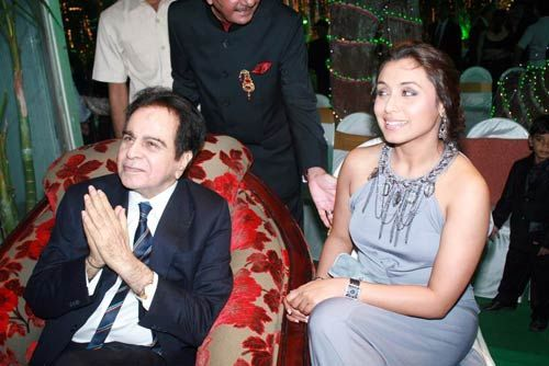 Rani Mukherjee and Dilip Kumar