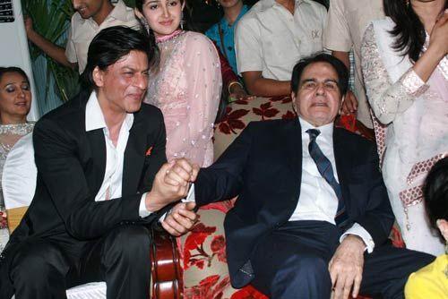 Dilip Kumar and Shah Rukh Khan