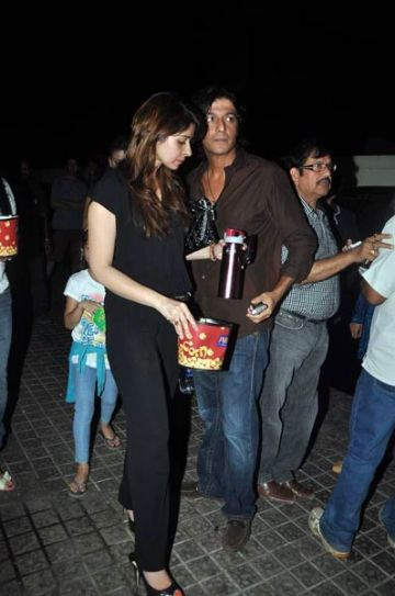 Bhavna Pandey and Chunky Pandey