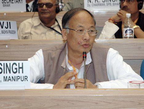 Manipur Chief Minister Okhram Ibobi Singh