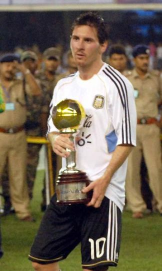 Lionel Messi played in India in August
