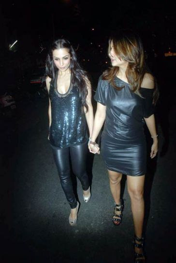 Malaika Arora Khan and Amrita Arora