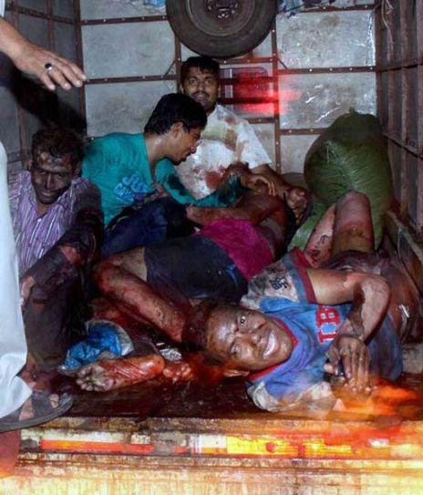 Mumbai terror strikes