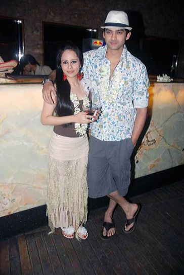 Aditya Redij and Natasha Sharma