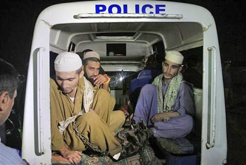 Pak students rescued by police