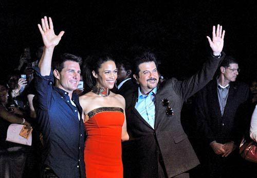 Tom Cruise, Paula Patton and Anil Kapoor