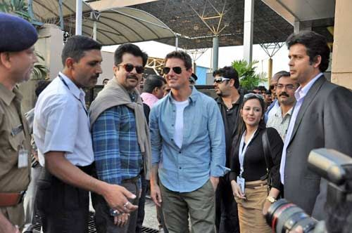 Anil Kapoor and Tom Cruise