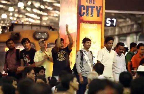 Flash mob dance in Mumbai